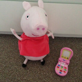 Talking Peppa Pig and Inspiration Works Peppa Pig Little Phone