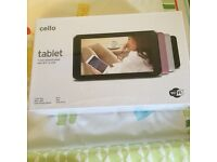 Brand new cello tablet upto 36gb