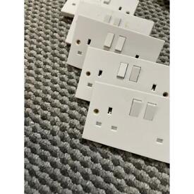13A double sockets x5
