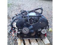 Audi A6 4.2 V8 Quattro Engine