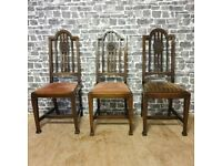 3x Antique Chairs