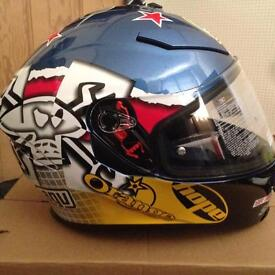 Guy Martin 3some helmet AGV K5