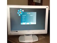 """Job Lot 21"""" TV, 3 Wii set and cd/dvd player, subwoofer and 6 conner speakers"""