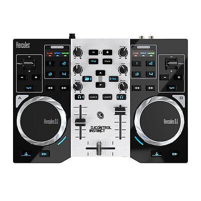 HERCULES DJ CONTROL INSTINCT S SERIES - 2 DECK USB CONTROLLER Authorized Dealer