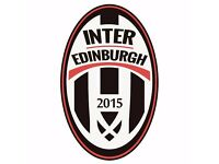 Team manager and assistant wanted by Inter Edinburgh amateur football club.