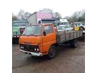 Left hand drive Toyota Dyna 300 3.5 Ton 6 tyres truck.