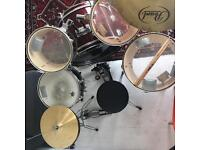 Full Drum Kit For Sale!