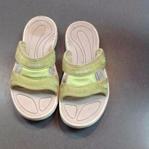 Speedo Sandals 8 green/grey (SKU:BY2B4A)