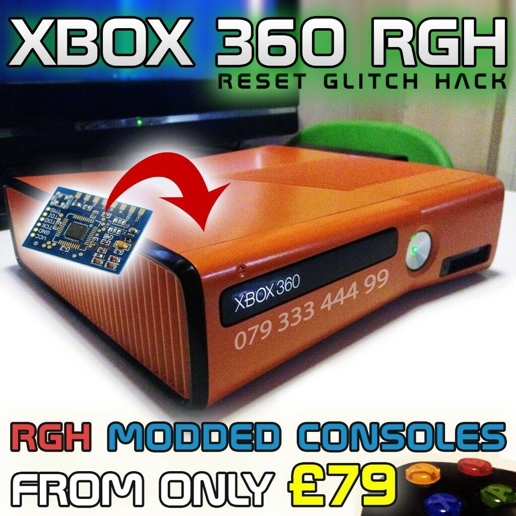 Xbox 360 RGH Consoles For Sale / RGH Send In Service | in Woodford, London  | Gumtree