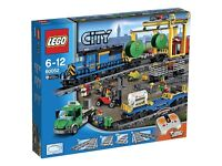 Lego City 60052 Cargo Train New Sealed
