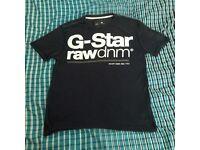 Dark Blue G-Star T-Shirt - XXL