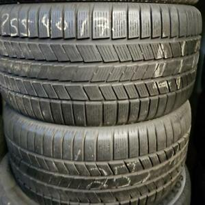 2 winter tires pirelli snow control 255/40r17