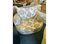 Flower cuddle chair