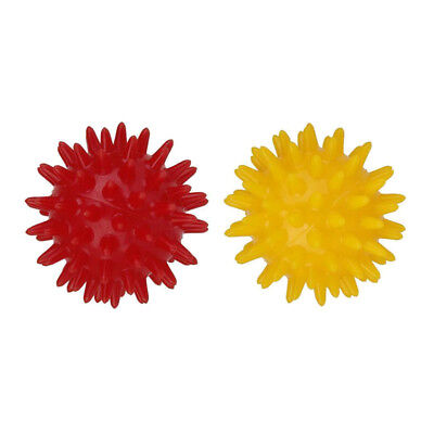 2pcs Trigger Point Deep Tissue Self Massage Balls MUSCLE BACK PAIN RELIEF ()