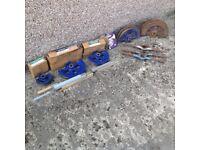 Pipe bender, formers and conduit dies