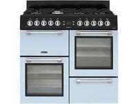 leisure 100cm duck egg blue range cooker new graded 12 mth gtee