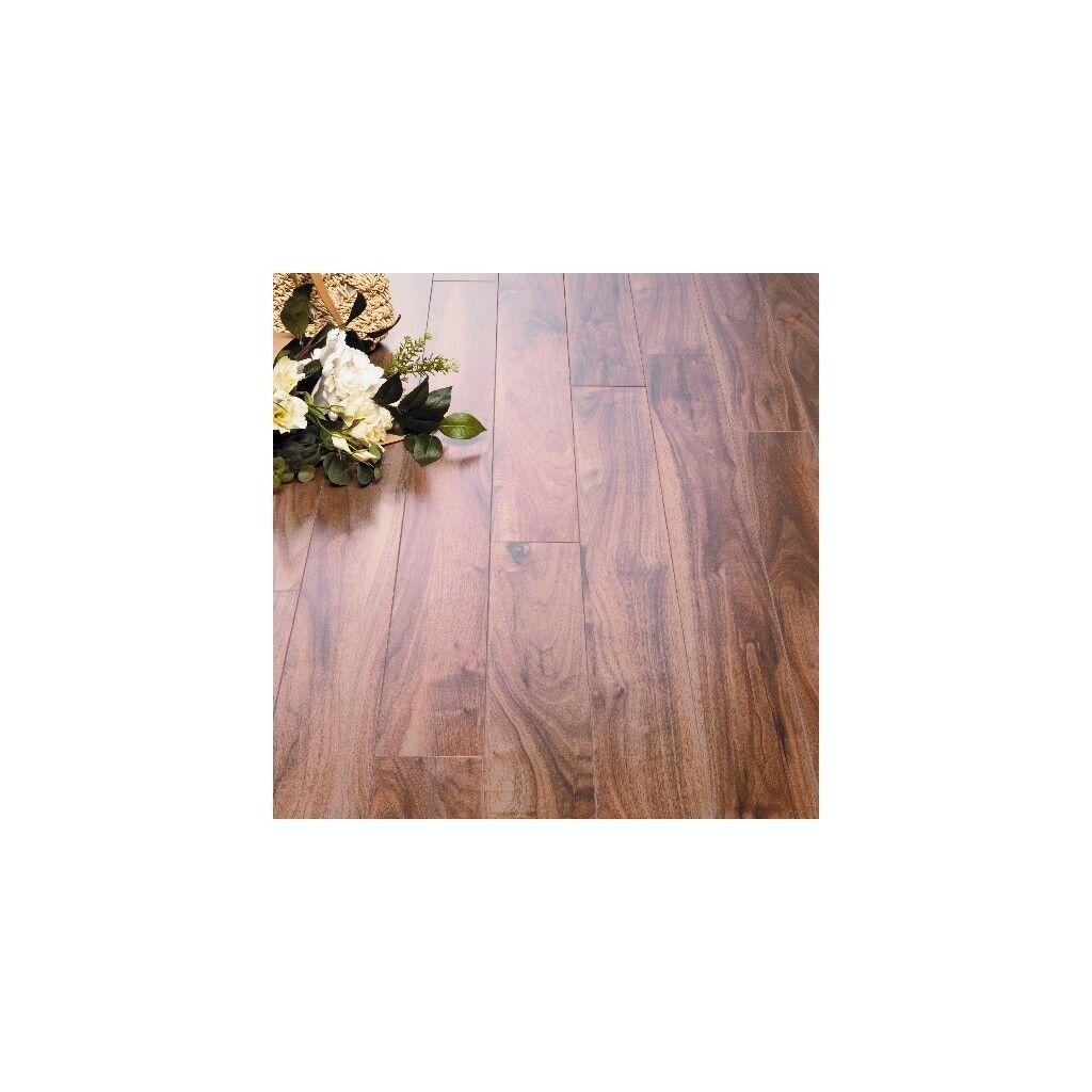 Hygena Hornbeam Narrow Plank Laminate Flooring 9 Packs New