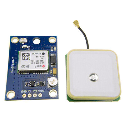 Neo-6m Gps Module With Flight Control Eeprom Mwc Apm2.5 Large Antenna Gps