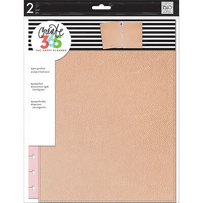 Create 365 The Big Happy Planner Snap In Hard Cover By Mambi  Rose Gold New 2017