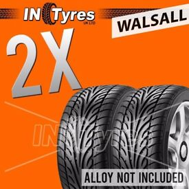 2x 205/45R17 Evolution Runflat RSC Tyres 205 45 17 Fitting Available x2