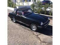 REDUCED PRICE!! MG Midget Black 1500 car for sale. Beautiful condition