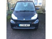 Smart Fortwo Coupe, 2008 Automatic Petrol, 69,000 miles