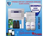 PYRONIX WIFI-KIT-1 ENFORCER WIRELESS ALARM SYSTEMS HOME BUSINESS UK SELLER