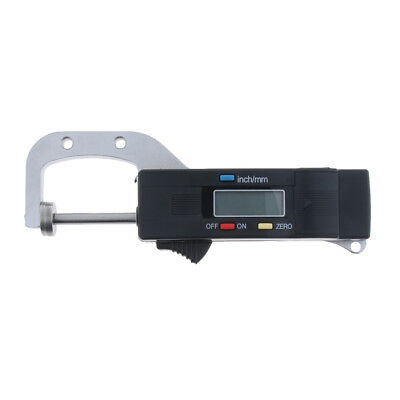 New High Precision Digital Thickness Gauge Micron 0-25 Mm 0.01mm