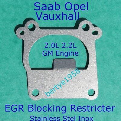 EGR Valve Restricter Plate Vauxhall Opel 2.0 2.2 DTi Vectra Zafira Astra Signum
