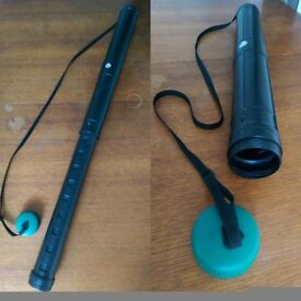 Great black and green telescopic teletube