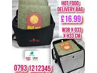 delivery bag fully insulated Uber Eats delivery bag