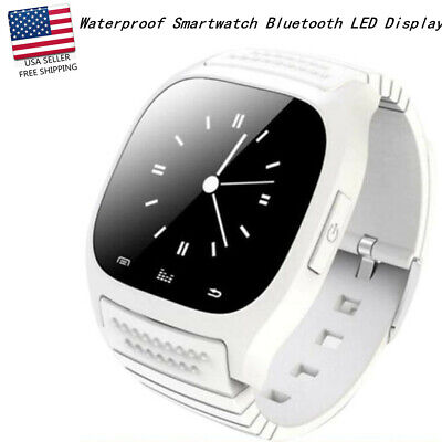 M26 Wrist Waterproof Bluetooth Smart Watch  LED Display Music Player