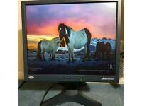 19-inch LCD monitor
