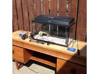 Fish tank and stand , free delivery
