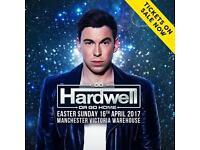 Hardwell tickets x2