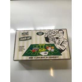 Mini poker set - 50p
