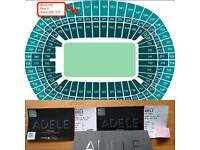 Adele The Finale tickets x2 for Sunday 2 July £400