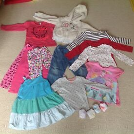 Girls clothing bundle, 3-4yrs, inc Roxy, Next, Gap & more!
