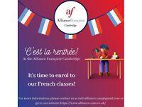 Enrolment French classes