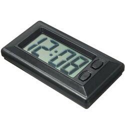 Ultra-Thin LCD Digital Display Dashboard Clock with Calendar For Car Dashboard