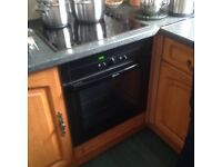 Neff integrated self cleaning oven (black)