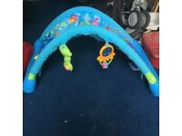 Barely used play gym