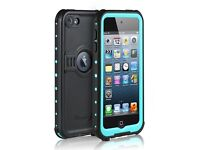 Merit Knight Series Waterproof Shockproof Case for Apple iPod Touch 5th/6th Generation(blue) by