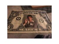 Tony Montana / Scarface Collectors Edition The Godfather edition Poster