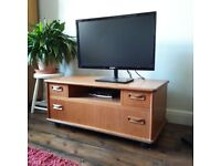 Vintage-style TV Stand