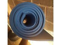 Blue Yoga/exercise mat