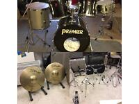 Premier APK Drum Kit with Stands And Cymbals