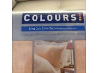 Pair of NEW King Size Duvet Covers (will sell individually)
