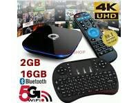 Q ANDROID TV BOX 16GB. SMART TV HD 4K ULTRA
