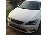 White seat Leon petrol tech pack 63 plate low mileage